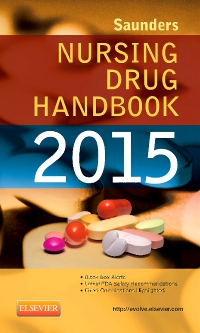 cover image - Saunders Nursing Drug Handbook 2015 -  Elsevier eBook on VitalSource
