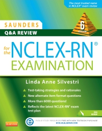 cover image - Saunders Q & A Review for the NCLEX-RN® Examination - Elsevier eBook on VitalSource,6th Edition