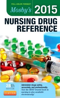 cover image - Mosby's 2015 Nursing Drug Reference - Elsevier eBook on VitalSource,28th Edition