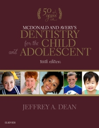 cover image - McDonald and Avery's Dentistry for the Child and Adolescent - Elsevier eBook on VitalSource,10th Edition