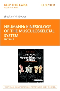 cover image - Kinesiology of the Musculoskeletal System - Elsevier eBook on VitalSource (Retail Access Card),3rd Edition