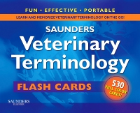 cover image - Saunders Veterinary Terminology Flash Cards - Elsevier eBook on VitalSource