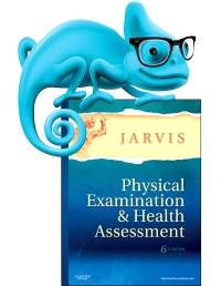 cover image - Elsevier Adaptive Learning for Physical Examination and Health Assessment,6th Edition