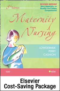 cover image - Maternity Nursing - Revised Reprint - Text and Elsevier Adaptive Learning Package,8th Edition