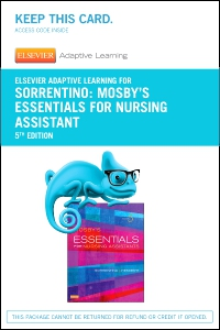 cover image - Elsevier Adaptive Learning for Mosby's Essentials for Nursing Assistants (Access Card),5th Edition