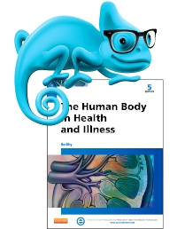cover image - Elsevier Adaptive Learning for The Human Body in Health and Illness,5th Edition