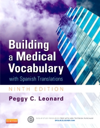 cover image - Building a Medical Vocabulary - Elsevier eBook on VitalSource,9th Edition