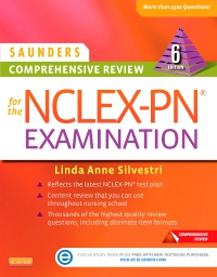 cover image - Saunders Comprehensive Review for the NCLEX-PN® Examination - Elsevier eBook on VitalSource,6th Edition