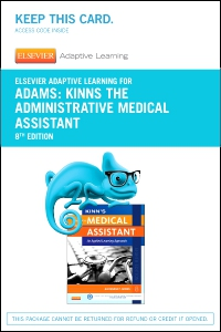 cover image - Elsevier Adaptive Learning for Kinn's The Administrative Medical Assistant (Access Card),8th Edition