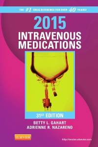cover image - 2015 Intravenous Medications - Elsevier eBook on VitalSource,31st Edition