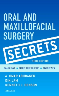 cover image - Oral and Maxillofacial Surgery Secrets,3rd Edition