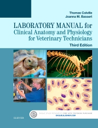cover image - Laboratory Manual for Clinical Anatomy and Physiology for Veterinary Technicians,3rd Edition