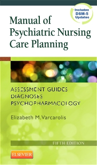 cover image - Manual of Psychiatric Nursing Care Planning - Elsevier eBook on VitalSource,5th Edition