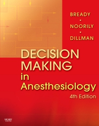 cover image - Decision Making in Anesthesiology Elsevier eBook on VitalSource,4th Edition
