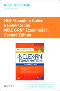 HESI/Saunders Online Review for the NCLEX-RN Examination (2 Year