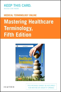 cover image - Medical Terminology Online for Mastering Healthcare Terminology,5th Edition