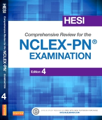 cover image - HESI Comprehensive Review for the NCLEX-PN® Examination - Elsevier eBook on VitalSource,4th Edition