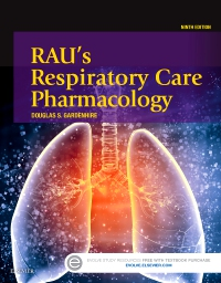 cover image - Rau's Respiratory Care Pharmacology,9th Edition