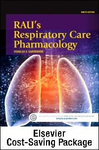 cover image - Rau's Respiratory Care Pharmacology - Text and Workbook Package,9th Edition