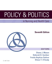 cover image - Policy and Politics in Nursing and Health Care - Elsevier eBook on VitalSource,7th Edition