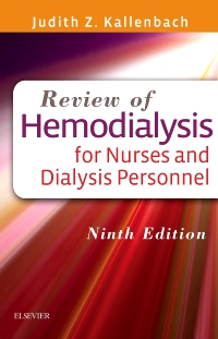 cover image - Review of Hemodialysis for Nurses and Dialysis Personnel- Elsevier eBook on VitalSource,9th Edition