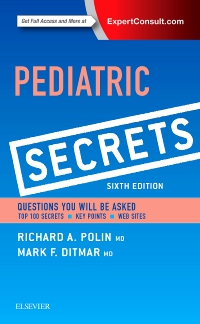 cover image - Pediatric Secrets,6th Edition