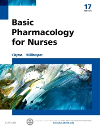 cover image - Basic Pharmacology for Nurses,17th Edition