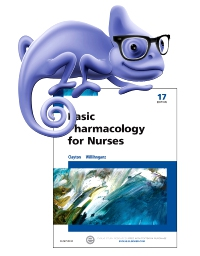 cover image - Elsevier Adaptive Quizzing for Basic Pharmacology for Nurses,17th Edition