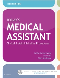 cover image - Today's Medical Assistant,3rd Edition