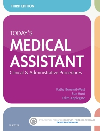 cover image - Today's Medical Assistant - Elsevier eBook on VitalSource,3rd Edition
