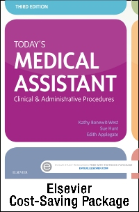 cover image - Today's Medical Assistant - Text and Study Guide Package,3rd Edition