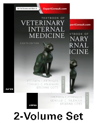 cover image - Textbook of Veterinary Internal Medicine Expert Consult,8th Edition