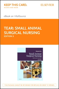 cover image - Small Animal Surgical Nursing - Elsevier eBook on VitalSource (Retail Access Card),3rd Edition