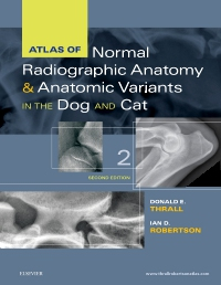 cover image - Atlas of Normal Radiographic Anatomy and Anatomic Variants in the Dog and Cat - Elsevier eBook on VitalSource,2nd Edition
