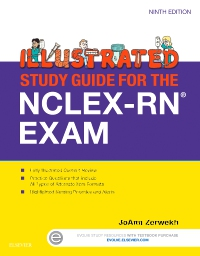 cover image - Evolve Resources for Illustrated Study Guide for the NCLEX-RN® Exam,9th Edition