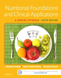 cover image - Evolve Resources for Nutritional Foundations & Clinical Application,6th Edition