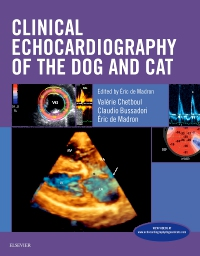 cover image - Clinical Echocardiography of the Dog and Cat