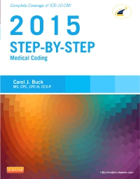 cover image - Step-by-Step Medical Coding, 2015 Edition - Elsevier eBook on VitalSource