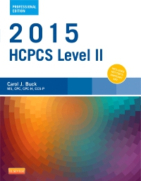 cover image - 2015 HCPCS Level II Professional Edition - Elsevier eBook on VitalSource