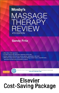 cover image - Mosby's Massage Therapy Review - Elsevier eBook on VitalSource + Evolve Access (Retail Access Cards),4th Edition