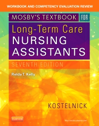 cover image - Workbook and Competency Evaluation Review for Mosby's Textbook for Long-Term Care Nursing Assistants,7th Edition