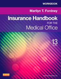 cover image - Workbook for Insurance Handbook for the Medical Office - Elsevier eBook on VitalSource,13th Edition