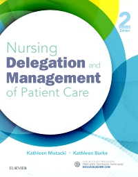 cover image - Nursing Delegation and Management of Patient Care - Elsevier eBook on VitalSource,2nd Edition