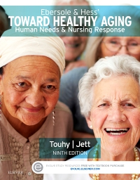 cover image - Evolve Resources for Ebersole & Hess' Toward Healthy Aging,9th Edition