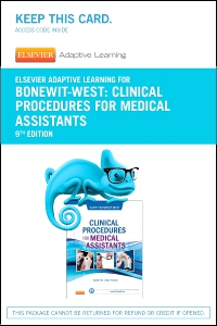 cover image - Elsevier Adaptive Learning for Clinical Procedures for Medical Assistants (Access Code),9th Edition