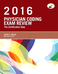 cover image - Physician Coding Exam Review 2016 - Elsevier eBook on VitalSource