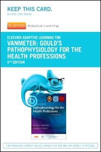 cover image - Elsevier Adaptive Learning for Gould's Pathophysiology for the Health Professions (Access Code),5th Edition
