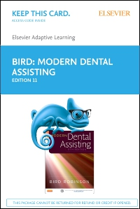 cover image - Elsevier Adaptive Learning for Modern Dental Assisting (Access Code),11th Edition