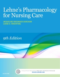 cover image - Lehne's Pharmacology Online for Pharmacology for Nursing Care,9th Edition