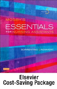 cover image - Mosby's Essentials for Nursing Assistants - Text, Workbook and Mosby's Nursing Assistant Video Skills: Student Online Version 4.0 (Access Code) Package,5th Edition